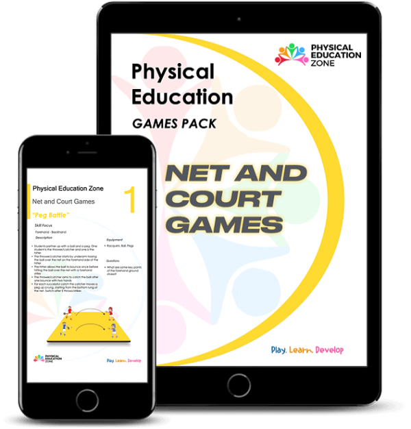 Physical Education Games - Net And Court